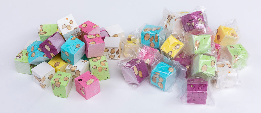sachet cube couleur 2