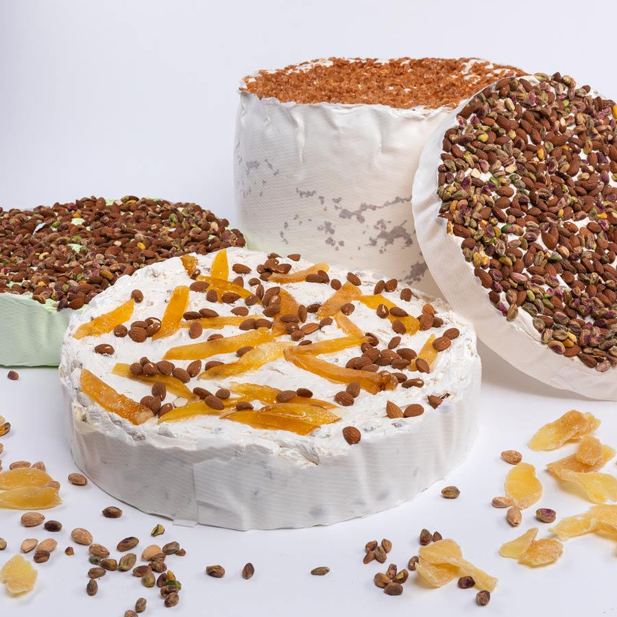 gateau nougat orange