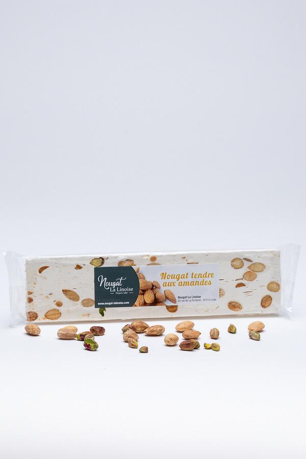 Nougat barre - Amandes pistaches